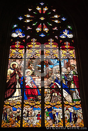 Catedral das excursões vitrificada
