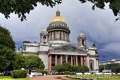 Catedral do St. Isaac, St Petersburg, Rússia.