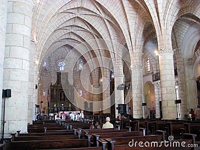 Catedral Santa María La Menor Editorial Photography
