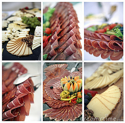 Free Catering Collage Royalty Free Stock Images - 18911379