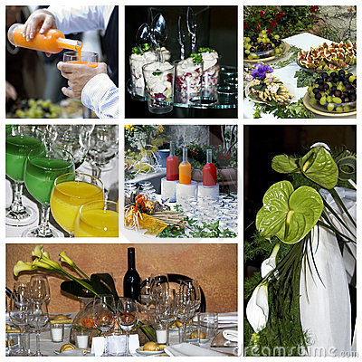 Catering collage theme