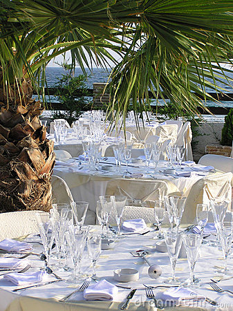Catering reception