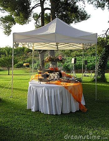 Catering, wedding banquet reception