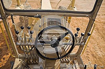 Caterpillar 140H Drivers View