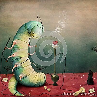 Free Caterpillar Royalty Free Stock Image - 83077836