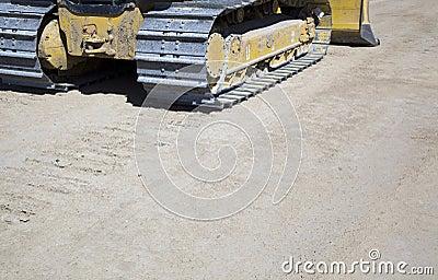 Caterpillar tracks or treads