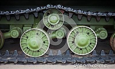 Caterpillars of the tank