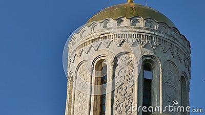 Cathédrale Vladimir Russia de St Dimitry clips vidéos