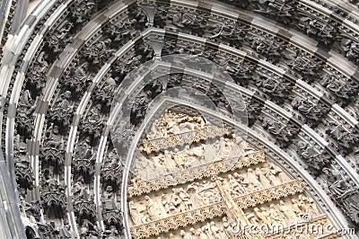 Cathédrale célèbre de Cologne (les DOM de Kolner)