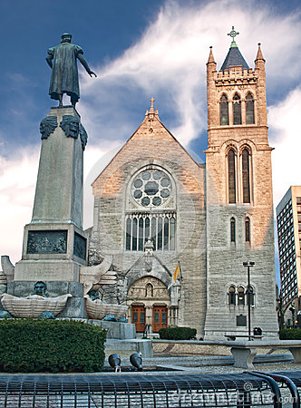 Cathédrale à Syracuse, New York