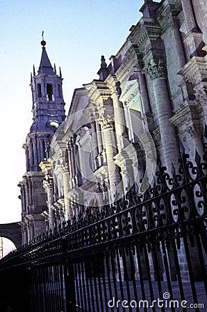 Cathedral- Arequipa, Peru
