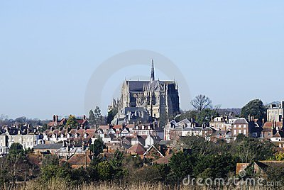 Cathedral at Arundel. Sussex. UK