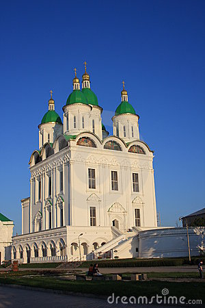 Cathedral in Astrakhan Kremlin