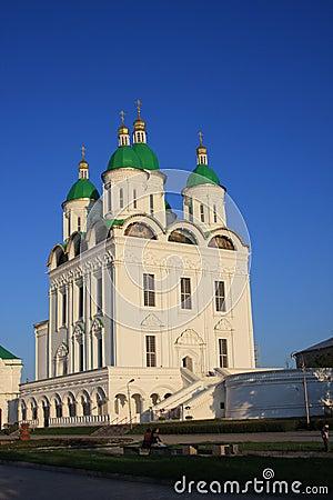 Cathedral in Astrakhan Kremlin