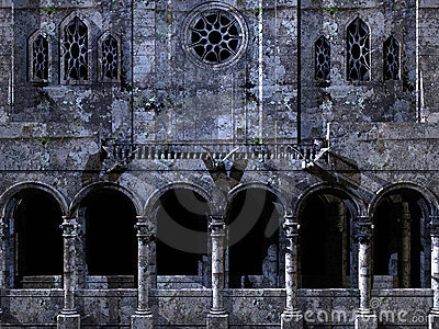 Cathedral background