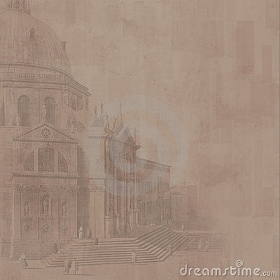 Cathedral background (brown)