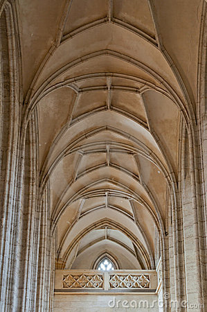 Cathedral Barrel Ceiling