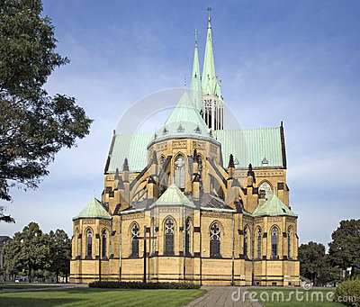Cathedral Basilica in Lodz, Poland