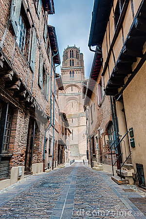 Free Cathedral Basilica Of Saint Cecilia, In Albi, France Royalty Free Stock Images - 73184319