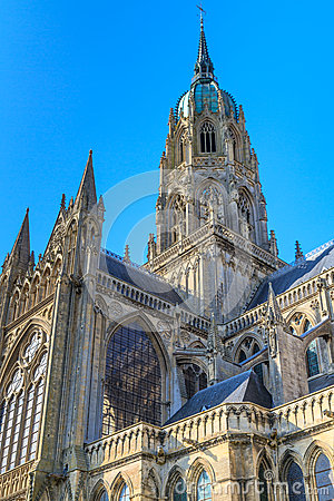 Cathedral of Bayeux, Normandy, France