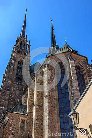 Cathedral in Brno