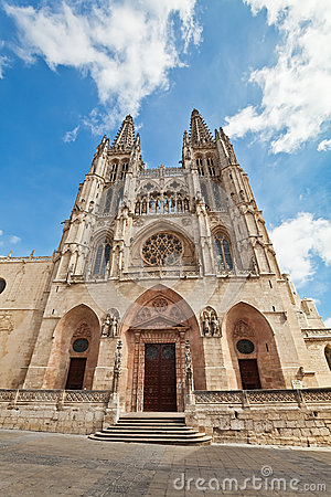 Cathedral in Burgos, Spain