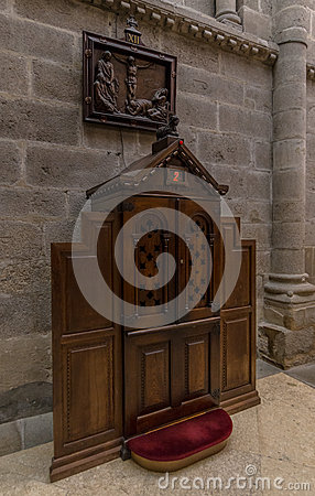 Cathedral Confessional
