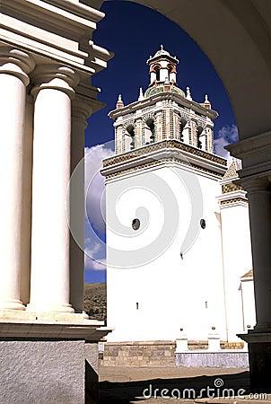 Free Cathedral- Copacabana, Bolivia Stock Photo - 1262320
