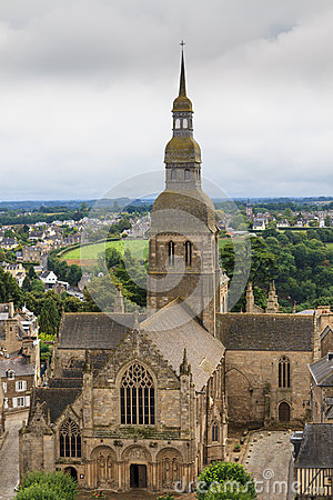 Cathedral of Dinan, Brittany, France