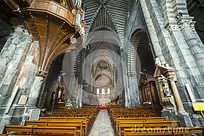 Cathedral of Embrun, interior