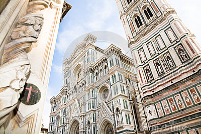 Cathedral facade, Florence