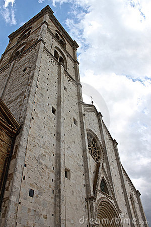 The cathedral of Fermo