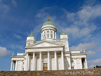 Cathedral in Helsinki