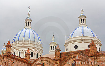 Cathedral Of The Immaculate Conception In Cuenca Stock Photos - Image: 13006193
