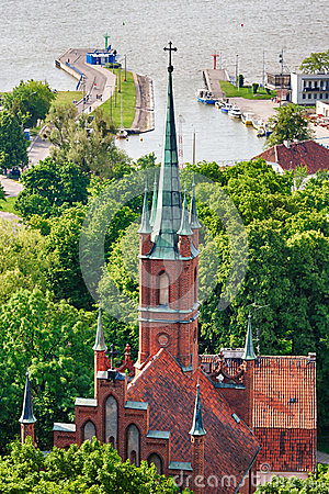 Free Cathedral In Frombork, Poland Stock Photos - 46758613