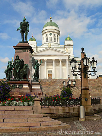 Free Cathedral In Helsinki Royalty Free Stock Image - 400566