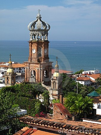 Free Cathedral In Puerto Vallarta, Mexico Royalty Free Stock Image - 11897236