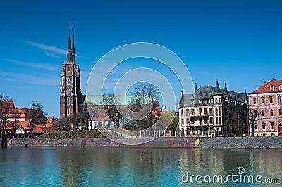 Cathedral Island Wroclaw (Bresslau)