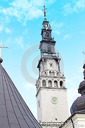 Cathedral of Jasna Gora Monastery. Czestochowa, Poland