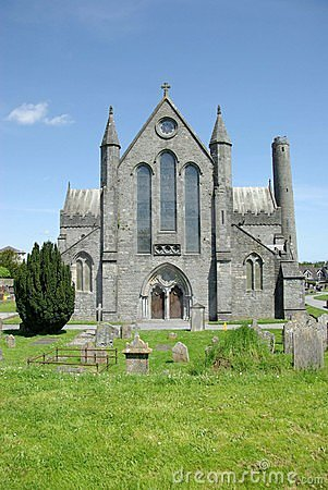 Cathedral in Kilkenny, Ireland