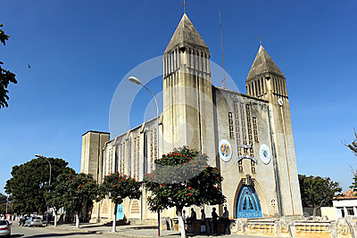 Cathedral of Lubango,Angola