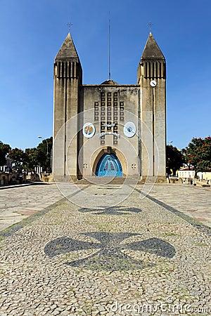 Cathedral of Lubango,Angola