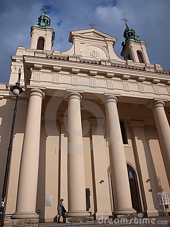 Cathedral, Lublin, Poland Editorial Photo