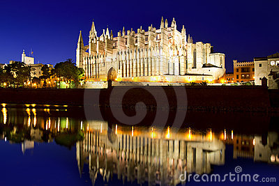 Cathedral of Majorca Balearic islands