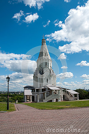 Cathedral in Moscow, Russia. landmark