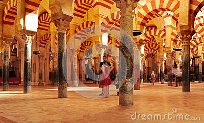 Cathedral Mosque of Cordoba, Spain Editorial Stock Photo