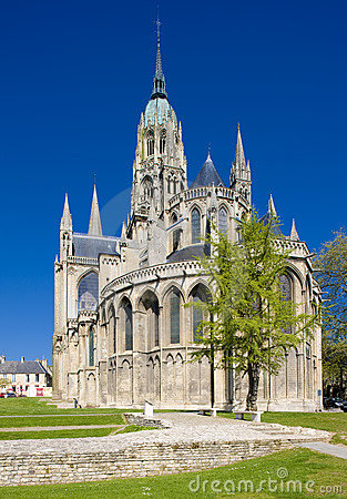 Cathedral Notre Dame in Bayeux