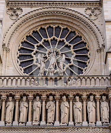 Free Cathedral Notre-Dame De Paris - Built French Gothic Architecture, And It Is Among Most Well-known Church Buildings In The World Royalty Free Stock Photo - 65266455