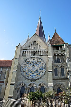 Cathedral Notre Dame in Lausanne, Switzerland