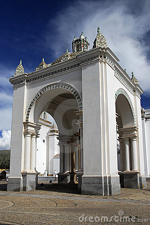Free Cathedral Of Copacabana, Bolivia Stock Image - 11443221